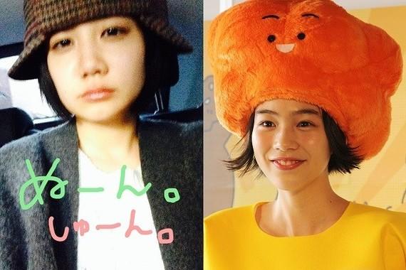 清水富美加さん(左/本人が新設したツイッターアカウントより)とのんさん(右/J-CAST撮影)