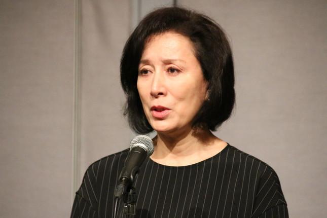 高畑淳子さん(2016年8月26日撮影)
