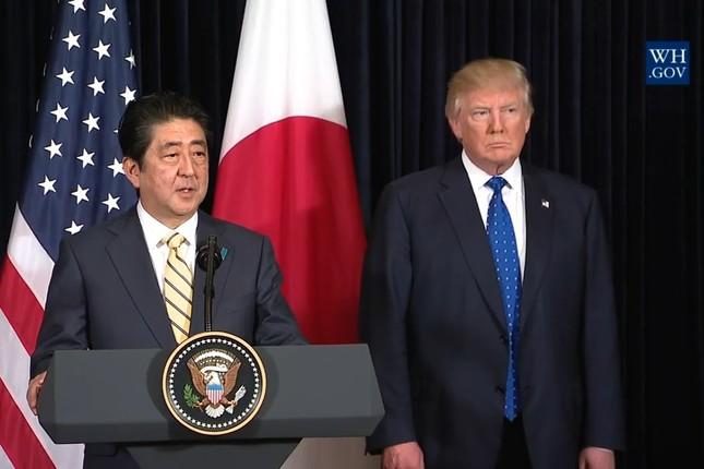 安倍首相とトランプ大統領の関係は…(写真はホワイトハウスのウェブサイトから)