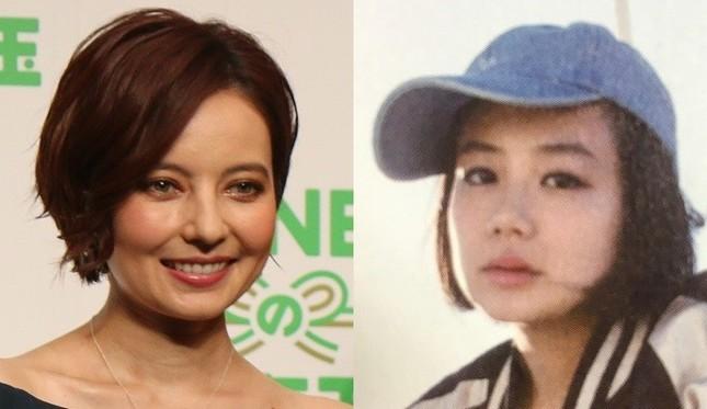 現在はベッキーさん(左)も清水富美加さん(右)もショートカットに(画像左はJ-CAST撮影、右は清水さんの著書『全部、言っちゃうね。』の表紙より)