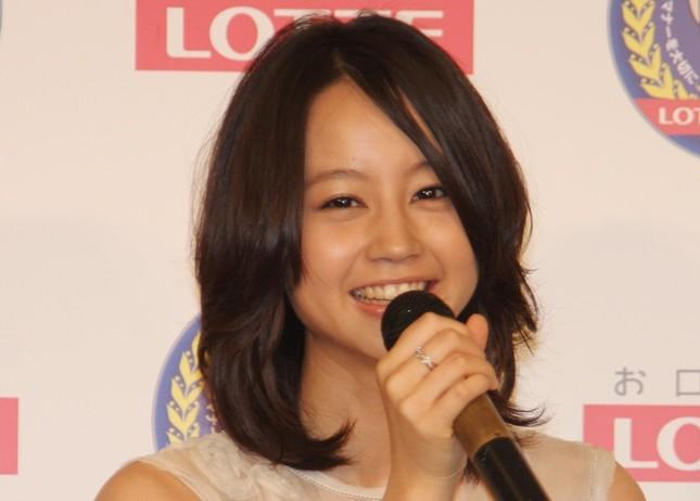 堀北真希さん(2010年撮影)