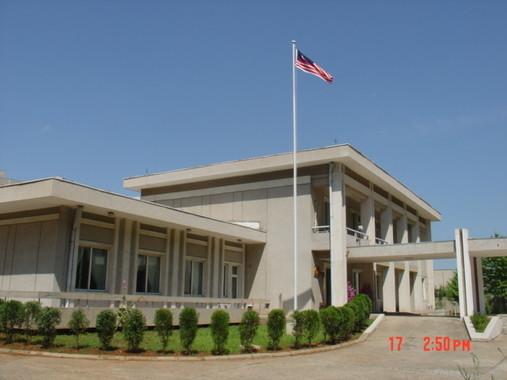 北朝鮮のマレーシア大使館員ら11人が「人質」になっている(写真は大使館のウェブサイトから)