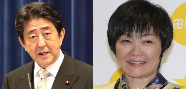 昭恵夫人(右)も森友学園への寄付を否定した。安倍首相(左)の関与の有無も注目されている