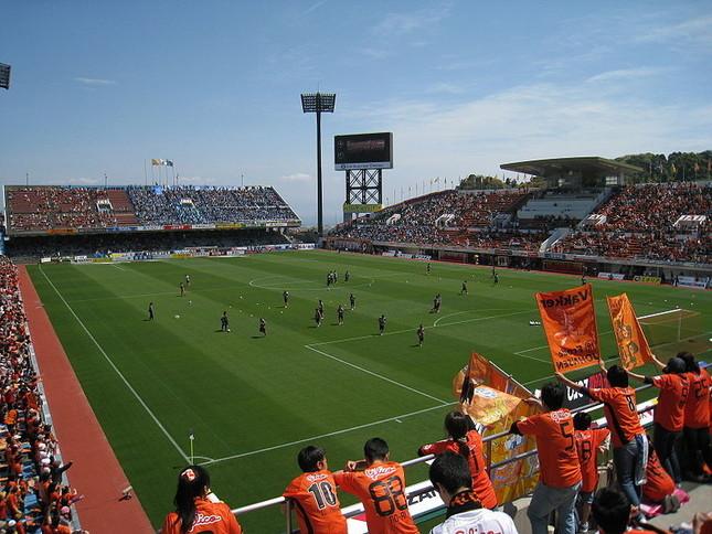 「事件」が起こった日本平スタジアム(Wikimedia Commonsより)