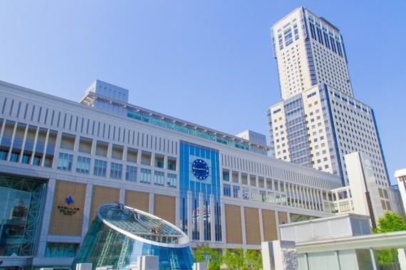 札幌、仙台、広島、福岡が高い伸びを示した(画像は札幌駅)