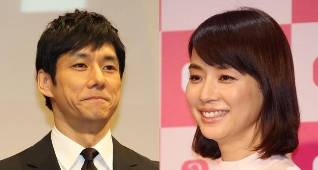 3度目の共演となる西島秀俊さん(左)と石田ゆり子さん(右)