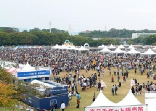 GWは各地で食のフェスティバルが開かれる