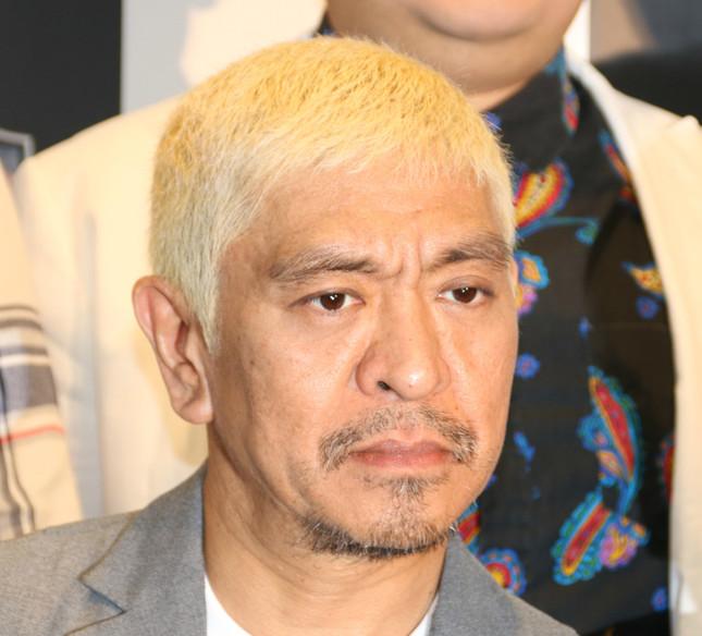 松本人志さん(2016年11月30日撮影)