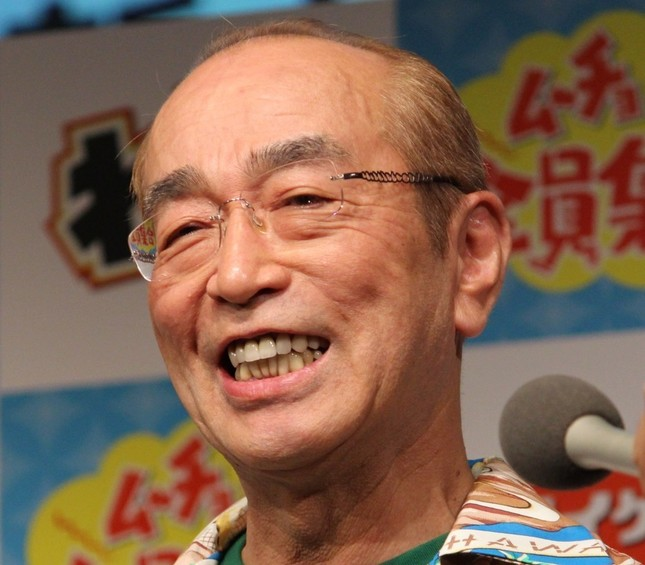 弟の志村けんさん(写真は2016年9月撮影)