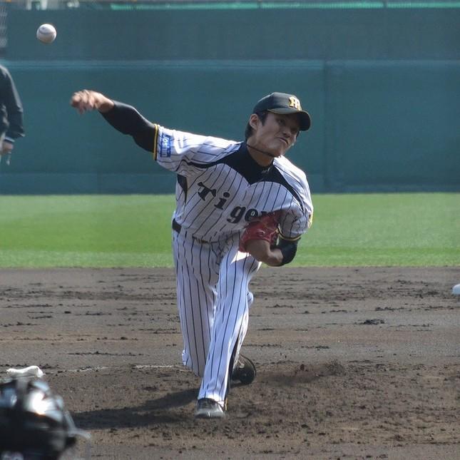 藤浪投手(Cake6さん撮影/WikimediaCommonsより)