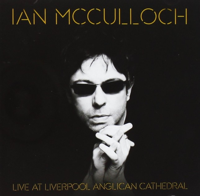 イアン氏の作品「Live at Liverpool Anglican Cathedral」(Pledge Music)