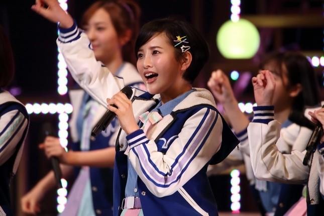 2か月ぶりにファンの前に姿を見せたHKT48の兒玉遥さん