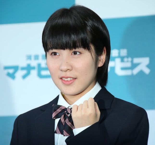 平野美宇(写真は2017年1月撮影)