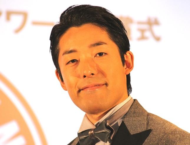 ブログで「オワコン論争」に言及した中田敦彦さん(写真は2016年12月撮影)
