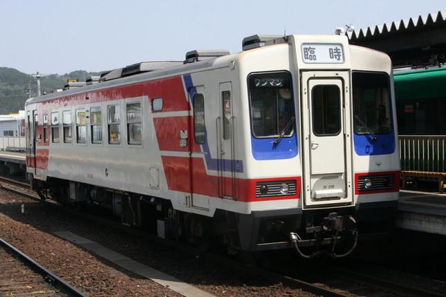 三陸鉄道は東日本大震災で甚大な被害を受けた(2010年5月撮影)