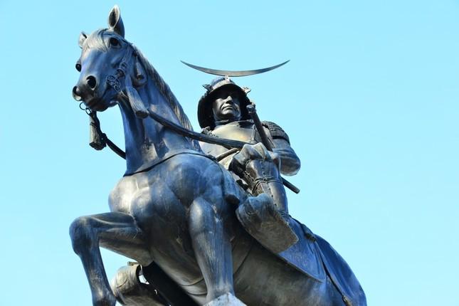 仙台城にある「伊達政宗像」