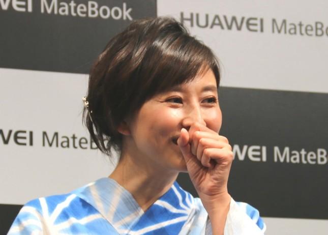 菊川怜さんが結婚を報告した(写真は2016年7月撮影)