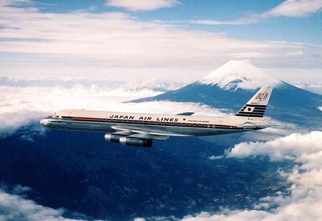 FUJI号は国際線を中心に活躍した(提供:JAL)
