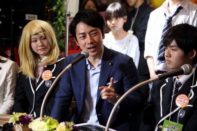 小泉進次郎衆院議員、交際相手についての質問に「あの、この世界、いたらバレています」。