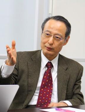 福岡大学医学部形成外科学・大慈弥裕之教授(2016年12月撮影)