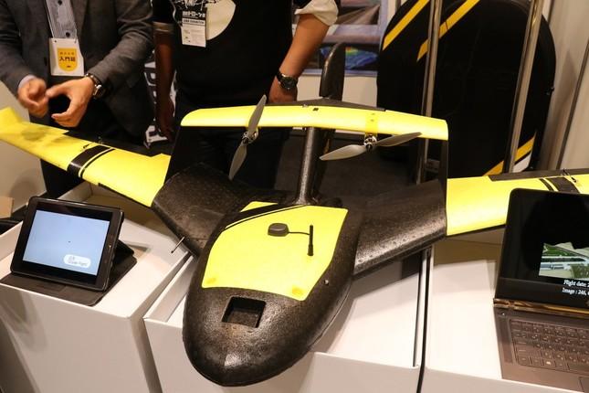 KEVAの「KD2マッパー」。安定した飛行能力が売り