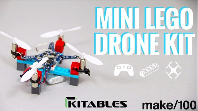 「Mini Lego Drone Kit」(Kickstarterより)
