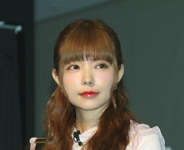 益若つばささん(17年2月7日、J-CASTニュース編集部撮影)