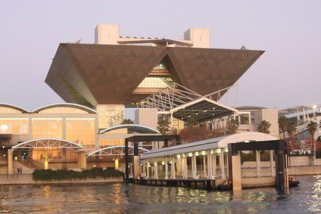 東京ビッグサイトは2020年東京五輪の前後には展示場として利用できなくなる