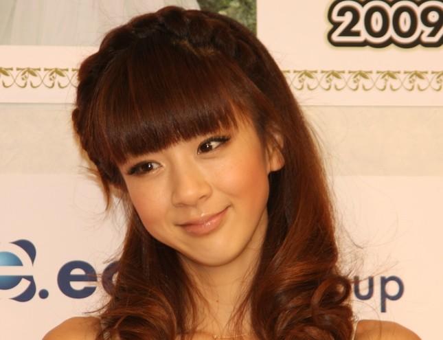 ほしのあきさん(2009年2月撮影)