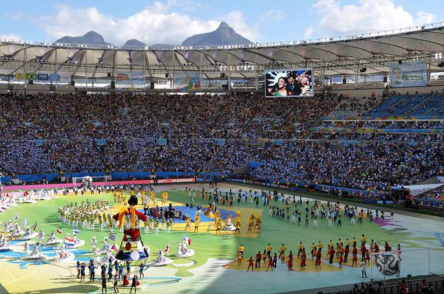 2014年W杯ブラジル大会の閉会式(by Marco Verch)