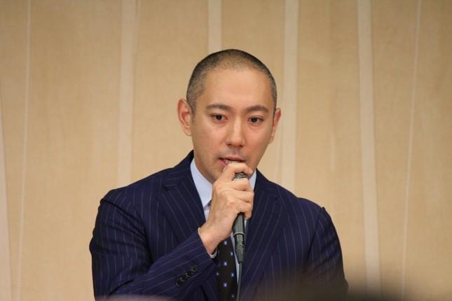 海老蔵さん「日々戦ってる」(2016年6月撮影)