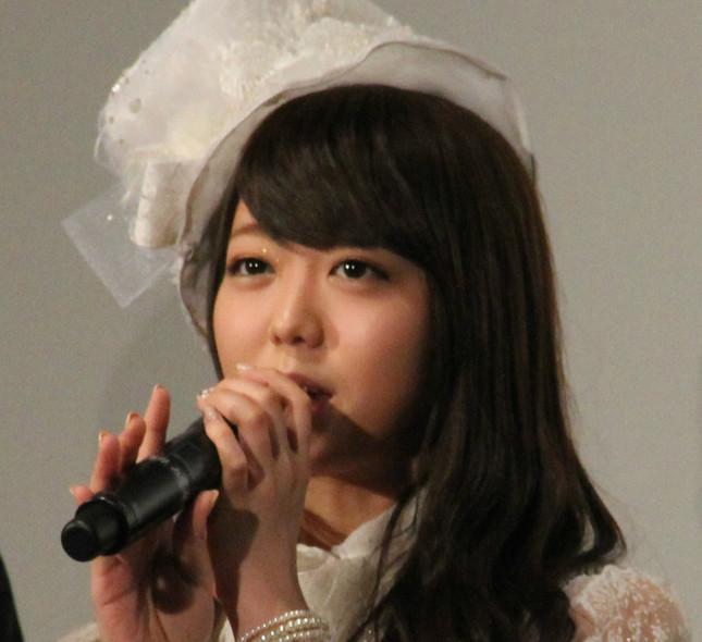 峯岸みなみさん(2013年1月、J-CASTニュース編集部撮影)