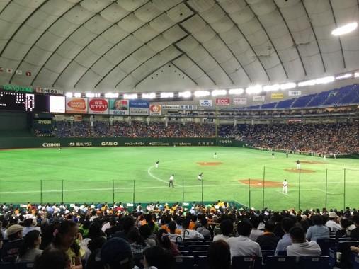 東京ドームで広島に3連敗が2回もある(本文と写真は直接関係ありません)