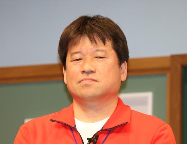 佐藤二朗さん(2016年5月、J-CASTニュース撮影)