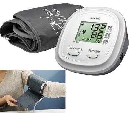ノジマPBからシンプルでリーズナブルな血圧計