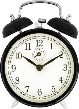 目覚まし時計に頼らず起きるほど規則ただしく…