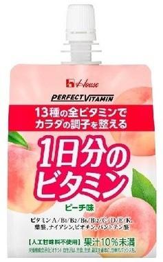 PERFECT VITAMIN 1日分のビタミンゼリー<ピーチ味>