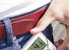 熱中症対策に...コンパクトサイズのデジタル温湿度計
