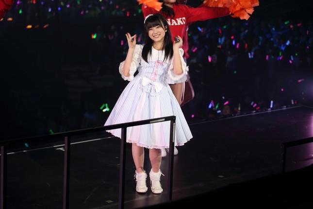 HKT48「なこみく」の矢吹奈子さん(2016年2月撮影)