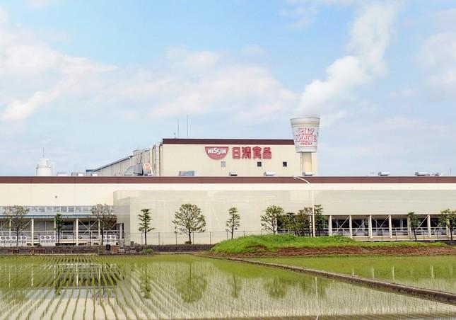 日清食品関東工場(画像は同社提供)