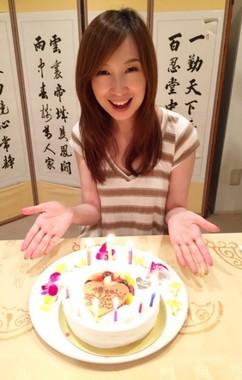森口さんが49歳の誕生日を迎えた(画像はアメーバブログから。提供:サイバーエージェント)