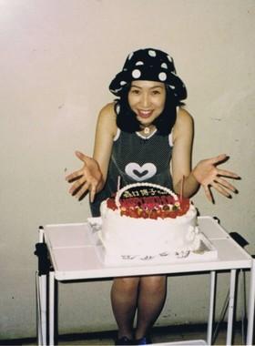 27歳の森口さん(画像はアメーバブログから。提供:サイバーエージェント)