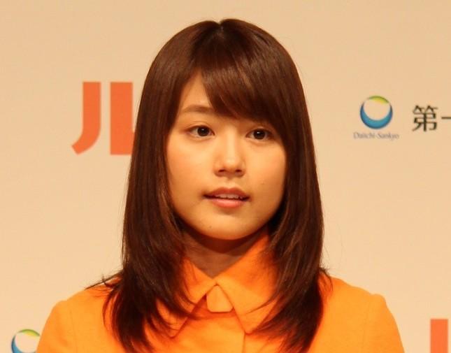 「ひよっこ」でヒロイン・みね子を演じる有村架純さん(2015年9月撮影)