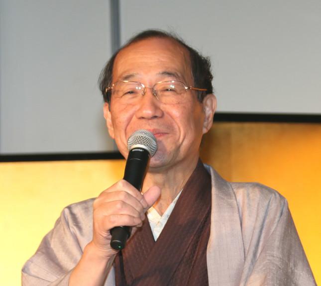 門川大作・京都市長(写真は、2017年2月撮影)