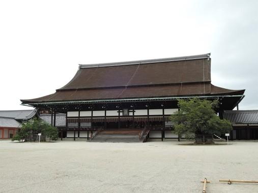 京都御所正殿の紫宸殿