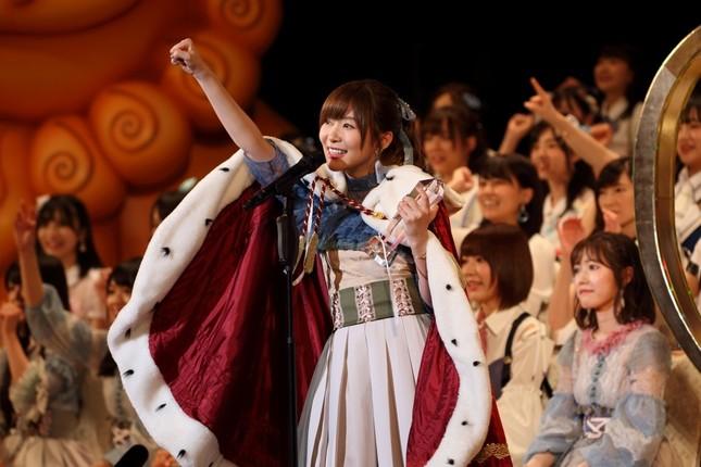 「選抜総選挙」初の3連覇を果たしたHKT48の指原莉乃さん
