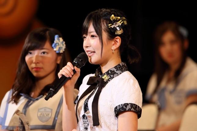 結婚を宣言したNMB48の須藤凜々花さん
