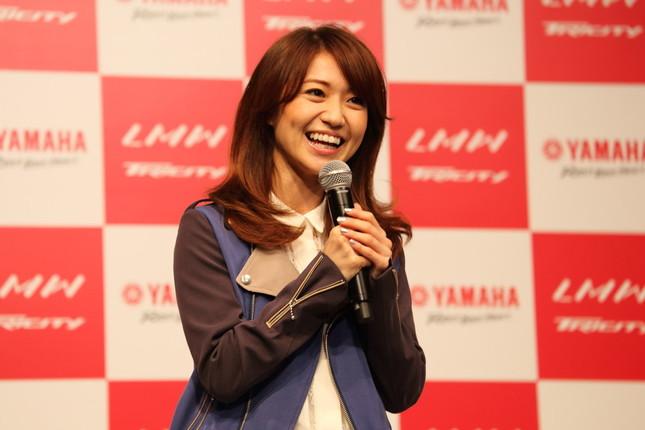 大島優子さんは「結婚宣言」に強い不快感を示した(2014年撮影)