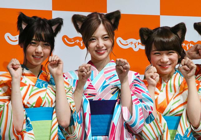 (写真左から)西野さん、白石さん、秋元さん