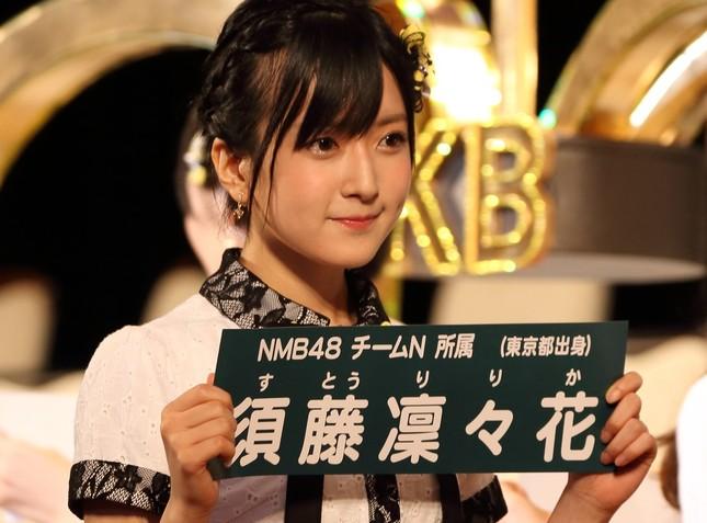 NMB48の須藤凜々花さん(2017年6月撮影)